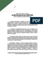 A Advocacia de Partido e seus elementos característicos