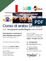2013_14 - Corso di arabo marocchino presso la sede ASAI di Porta Palazzo