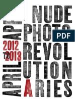 NudeRevolutionary Calendar 2012-13
