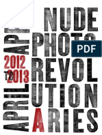 NudeRevolutionary Calendar 2012-13