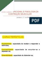 anatomia funcional e fisiologia da contração