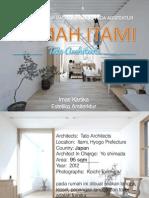 Analisis 3 Prinsip Dasar Vitruvius Pada Arsitektur Rumah Itami