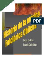Historia de la música Folclórica Chilena
