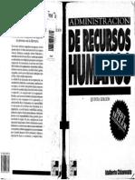administración de recursos humanos 5 ed - idalberto chiavenato