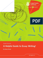 Helpful Guide to Essay Writing