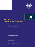 Airport Services Manual Part 5 - Removal of Disabled Aircraft (4th Edition - 2009)