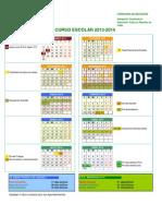 Calendario Escolar Cadiz 13-14