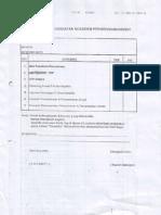 Check List Kelengkapan Dok Permohonan Kredit