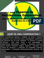 Ley Especial Asociaciones Cooperativas