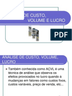 Analise+Custo+Volume+e+Lucro