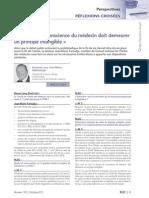 RLDC Octobre 2013_Clause de conscience des médecins - fin de vie