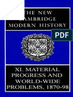 The New Cambridge Modern History Vol. 11 - Material Progress and World-Wide Problems,1870-1898