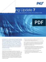 Accounting Update IFRS Stripping Costs - IFRS