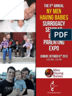 The 9th Annual NY Men Having Babies Surrogacy Seminar & Gay Parenting Expo - at the JCC in Manhattan
