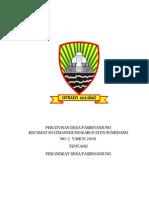 PERDES No.02 tahun 2009 tentang Perangkat Desa.pdf