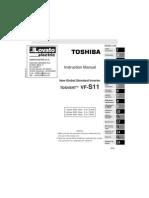 I181GB04_05 Toshiba TOSVERT VF-S11 Instruction Manual