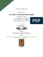 Anscient Jewish Proverbs