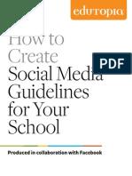 Edutopia Anderson Social Media Guidelines