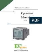 ECOXplore ePrecision X3000(en) 1.10 20110729