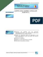 09 Corte Con Sierra Circular Portatil
