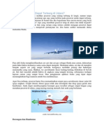 Mengapa Pesawat Dapat Terbang Di Udara