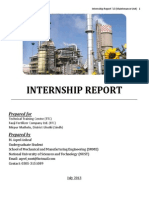 Internship Report- Fauji Fertilizer Company (FFC)