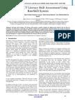 Automated ICT Literacy Skill Assessment Using RateSkill System