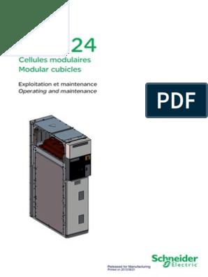 Sm6 24 Merlin Gerin Interrupteur Relais électromécanique