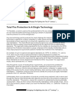 FireStopper Fire Protection Article