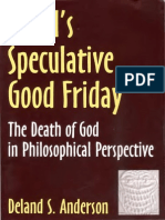 Anderson-Hegel Speculative Good Friday