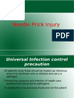 Needle Prick Injury