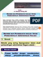 Metode Dan Pendekatan Dalam Studi Perbandingan Administrasi Negara