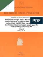 Arbed Report on Composite Columns in Fire 1992 REFAO II