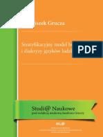 Franciszek Grucza - Stratyfikacyjny Model Budowy i Diakryzy