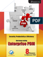 Top 8 Reasons to invest in SolidWorks Enterprise PDM from EGS India