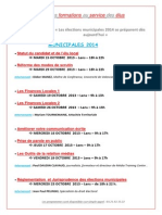 Formations Municipales 2014