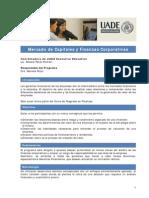 Mercado de Capitales y Finanzas Corporativas 2012