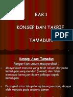 bab 1- konsep & takrif tamadun