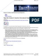 Open the Curtain At America's Investment Gulper (AIG)