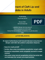 Management of Cleft Lip and Palate in Adult