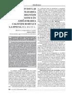 Academos 4 2008 26 STUDIUL ŞI UTILIZAREA VARIABILITĂŢII GENETICE ÎN AMELIORAREA CALITĂŢII BOBULUI LA SPECIA ZEA MAYS L