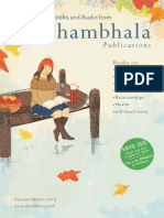 Shambhala Publications Catalog - Fall/Winter 2013