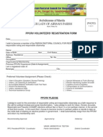 PPCRV VOLUNTEERS APPLICATION