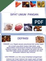 Sifat umum  Pangan.ppt