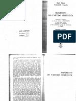 MARX e ENGELS; Manifesto Do Partido Comunista (Completo)