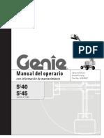 Manual Del Operador de Ganie s40