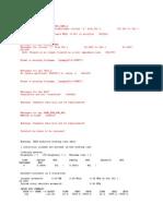 PSSE Sample Reports