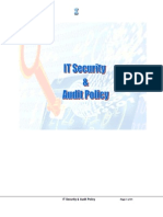 IT Security Audit Policy