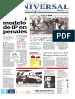 Primeras Planas Diarios Nacionales Mier 02 Oct 2013
