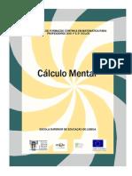 058_Cálculo Mental - 2009